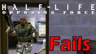 Half Life Opposing Force Chapter 00 Fails [Longplay] [PC] [1080p]