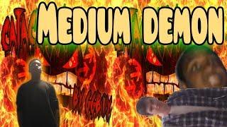 "Medium Demon | ""Multi Clysm"" by TrusTa | Geometry Dash (live)"