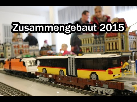 zusammengebaut 2015 lego ausstellung in borken hessen youtube. Black Bedroom Furniture Sets. Home Design Ideas