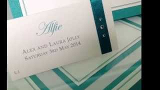 How To Make Your Wedding Invitations & Stationery Look Gorgeous. London Www.perfectday-wedding.co.uk