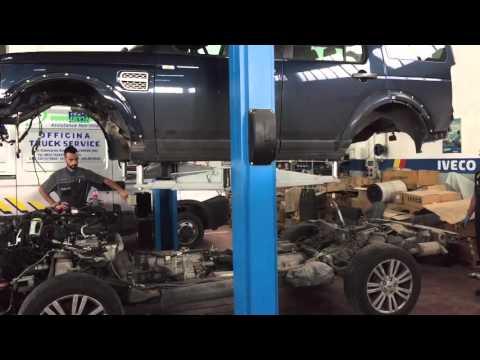 Land Rover Discovery 4 Sollevamento Carrozzeria Per Cambio