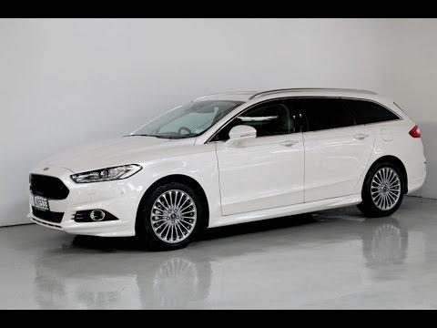Ford Focus 2017 Hatchback >> New Ford Mondeo Titanium Wagon - Team Hutchinson Ford - YouTube