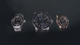 Blancpain presents Fifty Fathoms collection