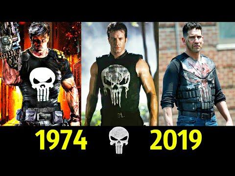 👿 Каратель - Эволюция (1974 - 2019) ! Все Появления Фрэнка Касла 👊!