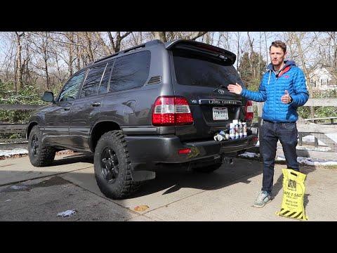 Here's How I'm Preventing Rust On My Land Cruiser 100 Series UZJ100