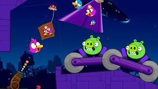Angry Birds Collection Cannon 4 - BLAST THE PIGGIES AFTER RESCUEING FRIEND BIRDS!