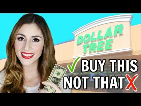 What You SHOULD and SHOULDN'T Buy At The Dollar Tree | Shop