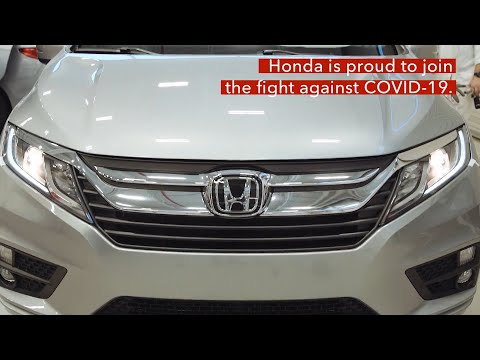 Honda Provides City of Detroit Modified Vehicles During COVID-19 Pandemic