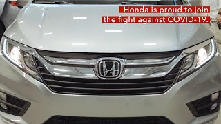 homepage tile video photo for Honda Provides City of Detroit Modified Vehicles During COVID-19 Pandemic