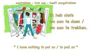 Learn Dutch: Clothes in Dutch (1/2) / words and sentences / Dutch lesson / Kleren in het Nederlands
