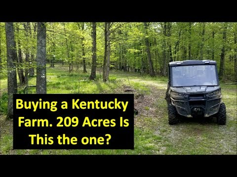 Kentucky Land, Buying Hunting Land, #3 Is This The One For Kapper Outdoors?