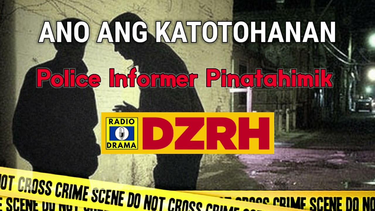 Download Ano Ang Katotohanan - Police Informer Pinatahimik | DZRH Pinoy Classic Radio Drama