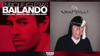Bailando Cheap Thrills   Enrique Iglesias (ft. Sean Paul, Descemer Bueno & Gente De Zona) vs. Sia