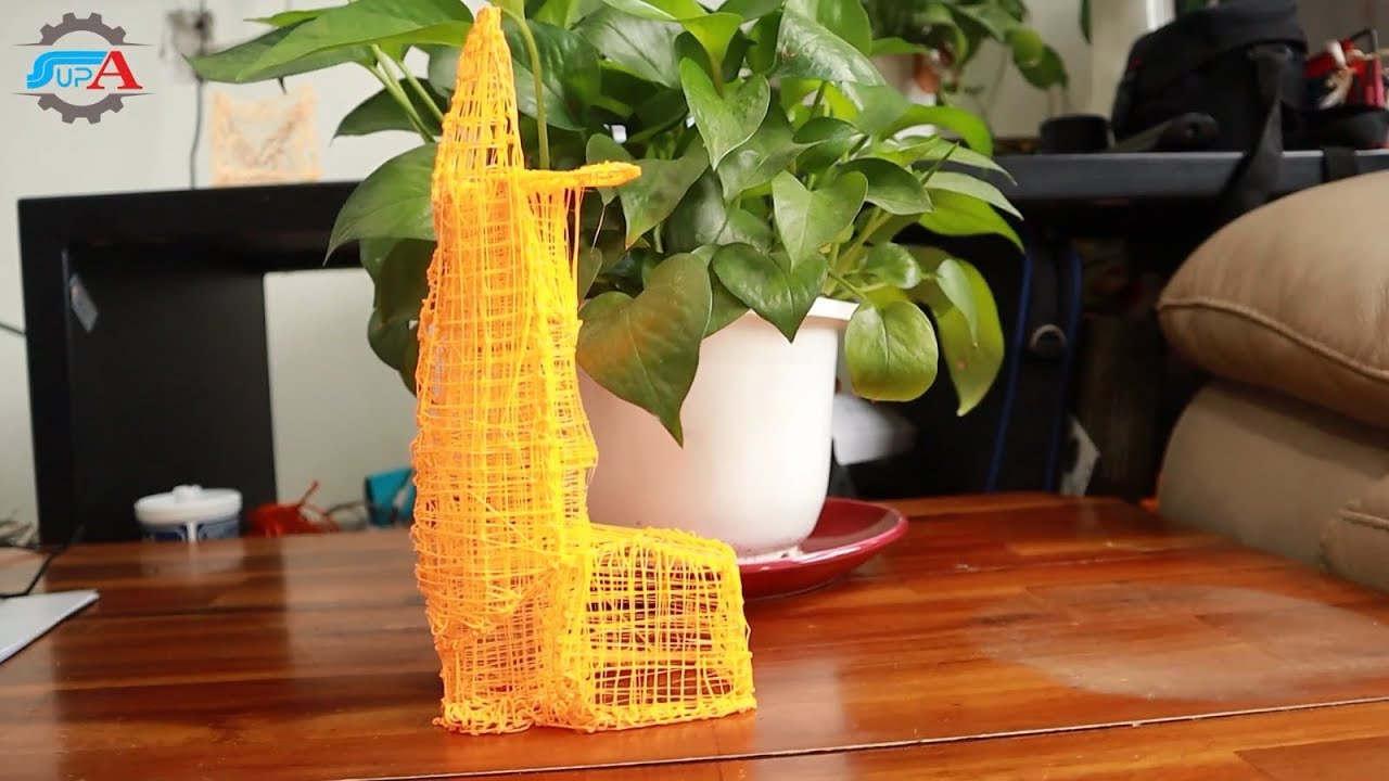 VẼ  BITEXCO TOWER VIETNAM- BÚT 3D- ANH SUPA