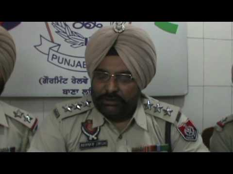 JHANJAR TV NEWS FROM PUNJAB LUDHIANA HOMEGUARD'S POST COMMANDER ARRESTED WITH 22 KG DRUGS BY POLICE