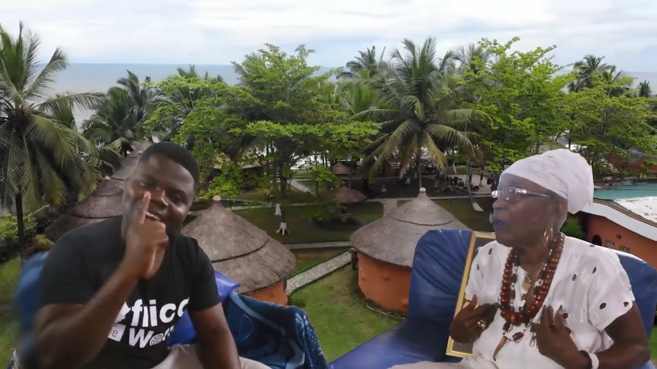 Most Beautiful & Traditional Resort In Ghana(One Africa)