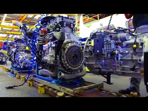 Production SETRA. Plant EvoBus in Neu-Ulm - part 1.