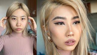 Макияж 2020 Лисий Взгляд Азиатские Глаза Asian Makeup Tutorial Fox Eye
