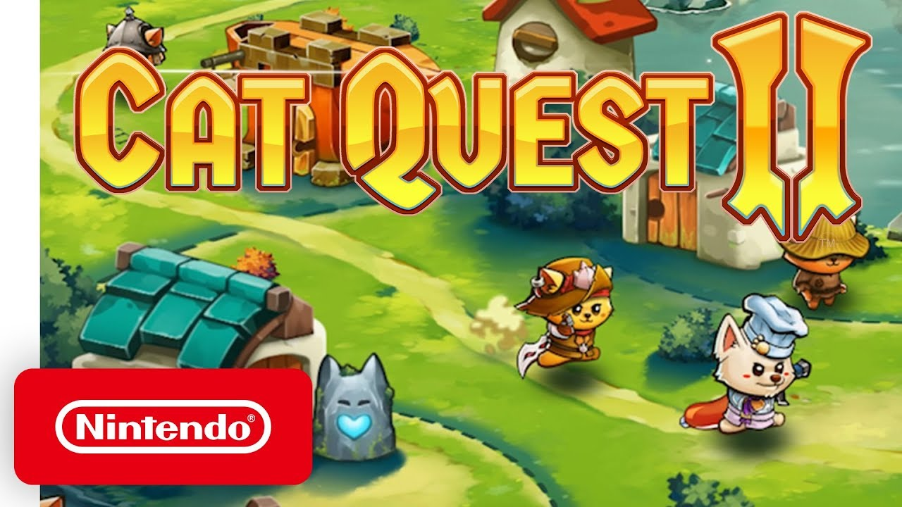 Launch Trailer για το Cat Quest II