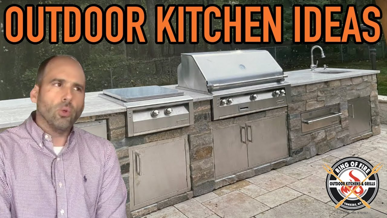 Outdoor Kitchen Ideas Starting From Scratch Youtube