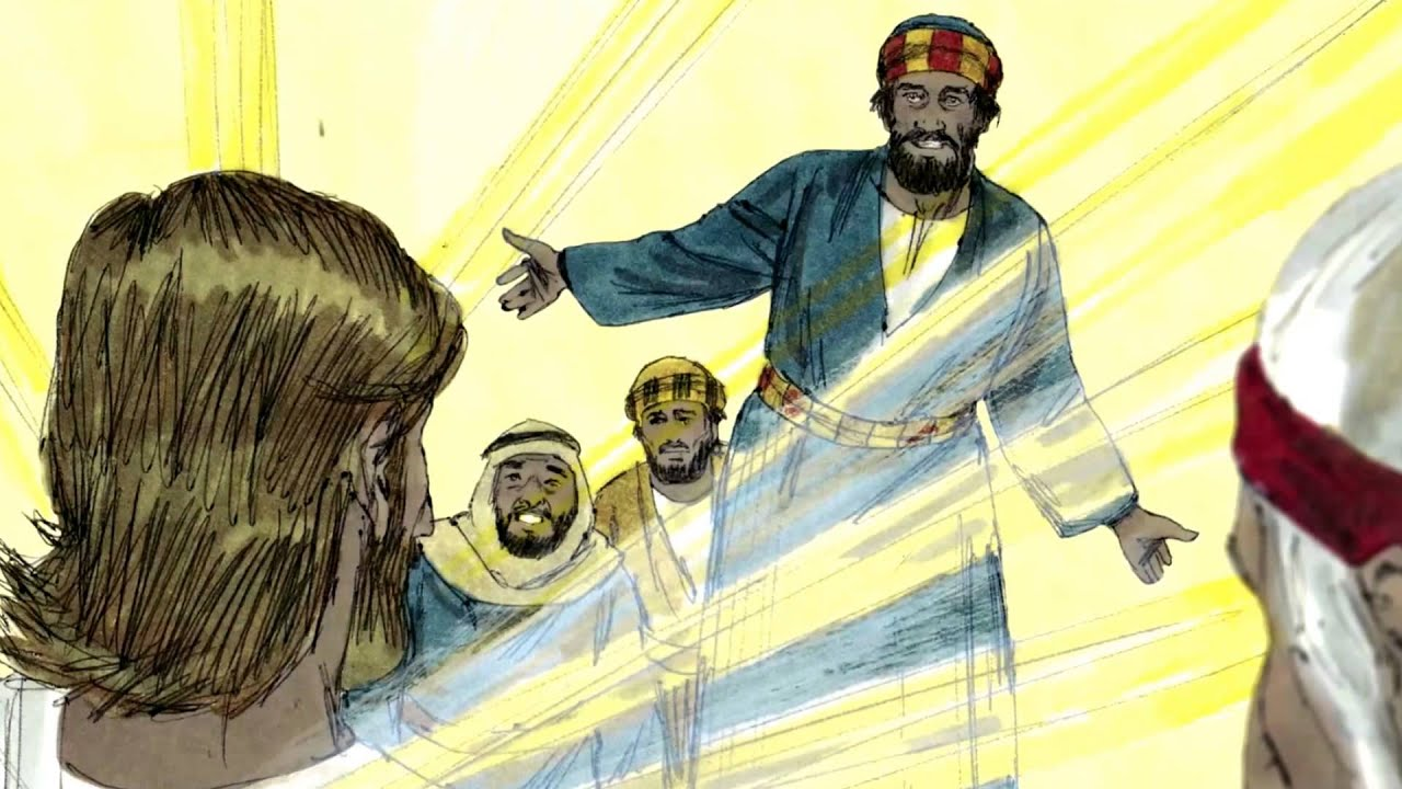 open bible stories | the transfiguration | second coming ...