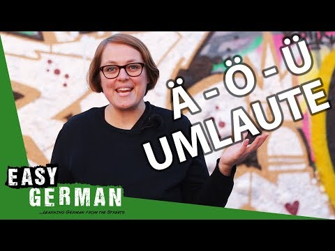 German Umlaute | Super Easy German (86)