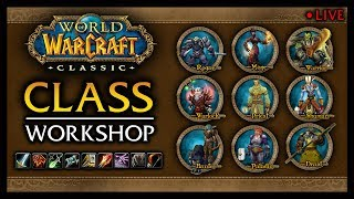 RE-Overview of All 9 Classes in Classic WoW - (Leveling, Dungeons, PvE, World PvP, Pre-Made PvP)