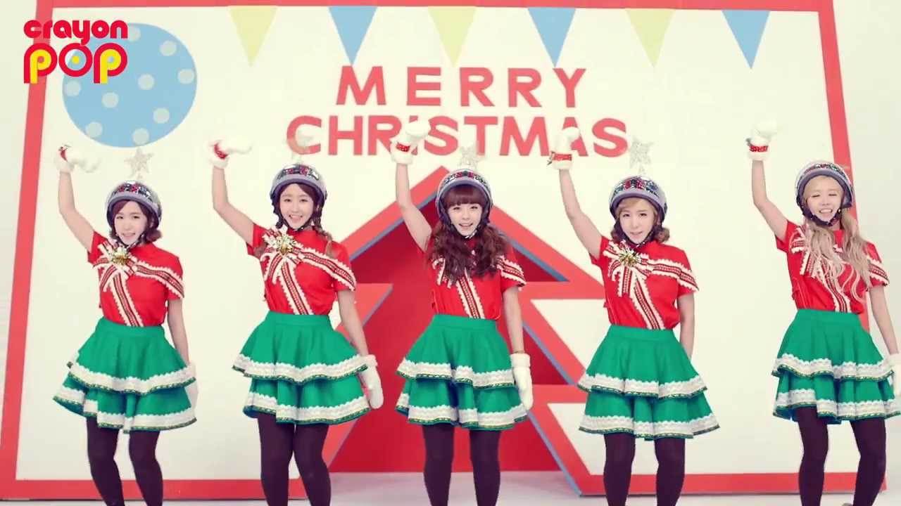 [Crayon Pop] 크레용팝 꾸리스마스(Lonely Christmas) M/V - YouTube