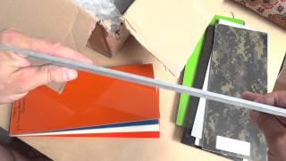 Розпакування. #12 Carbon і G10 для кастомізації ножів.