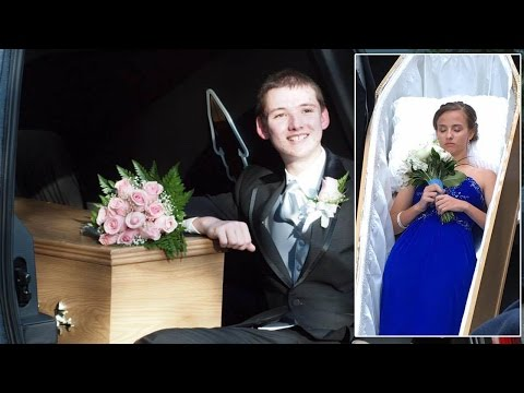Thumbnail: 17-Year-Old Aspiring Funeral Director Arrives To Prom Inside Coffin
