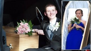 17-Year-Old Aspiring Funeral Director Arrives To Prom Inside Coffin