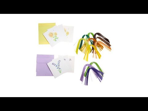 Anna Griffin Createaquill Diy Quilling Card Kit Sunflowe Youtube