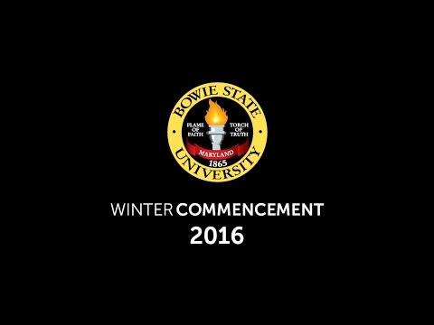 Winter 2016 Commencement