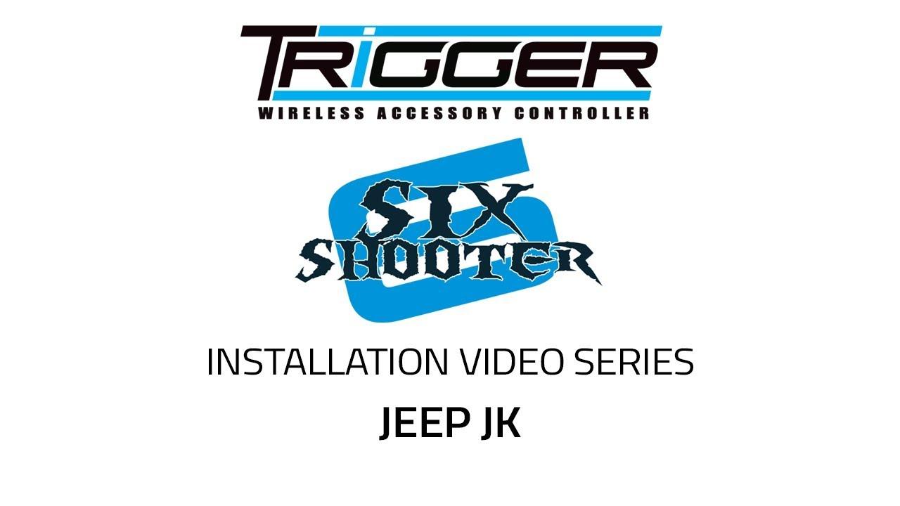 Trigger Accessory Control System for UTV Side x Side Polaris General