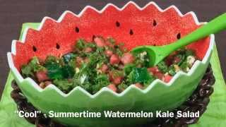 Summertime Watermelon Kale Salad