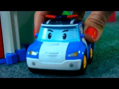 Игра в Прятки Робокар Поли - трейлер к новому мультфильму из игрушечных машинок