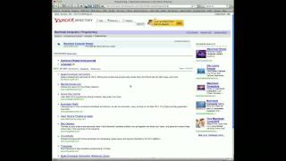 Using Yahoo Directory to perform a search