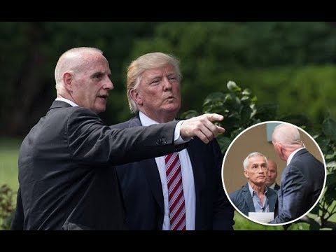 Trump may lose ANOTHER key aide as body man Keith Schiller looks to leave the White House after near