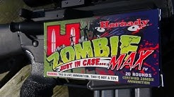 ZOMBIE MAX!!!  .223 Remington 55 gr Z-MAX Ammo Test