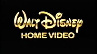 Walt Disney Home Video (1999) Company Logo (VHS Capture)