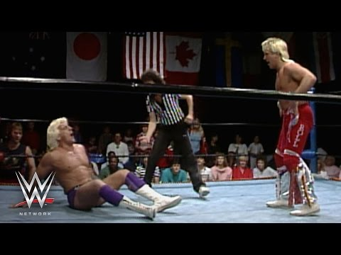 Ric Flair vs. Ricky Morton - NWA World Championship Wrestling, April 12, 1986: WWE Network