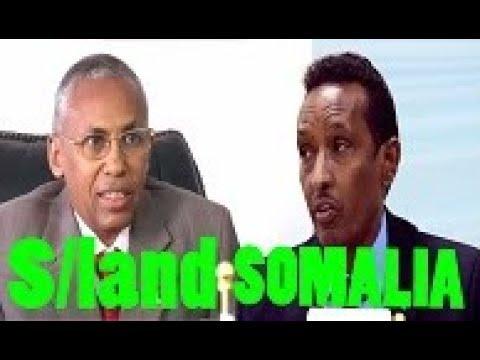 S/land Iyo Somalia Oo KaWada Hadlay Inay Dib Loo Furro Wada Hadaladoodii