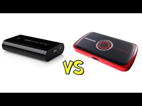 Avermedia live gamer portable vs elgato game capture hd for Gamer v portable