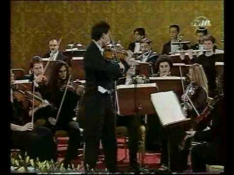 Wieniawski Polonaise in D Malta 2001 LIVE - Carmine Lauri - Malta National Orchestra
