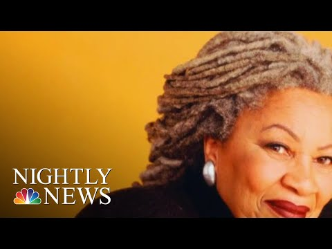 'Beloved' Author Toni Morrison Dies At 88 | NBC Nightly News