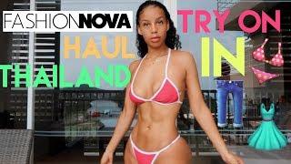 FashionNova Try On Haul In Thailand