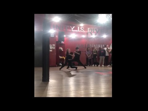 Sean Lew and Kaycee Rice Attending Kyle Hanagami's Class | Paris by Sabrina Carpenter 1.7.19