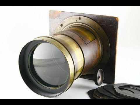 [Rare! Exc+] Dallmeyer 2A PATENT Portrait Lens 350mm f/4 London From JAPAN 5795