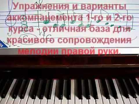 Как играть на пианино Басовый ключ учить не обязательно