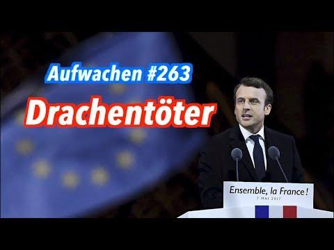 Aufwachen #263: Macrons Europa, de Maizières Flüchtlinge + Pro GroKo